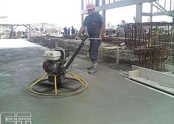 Execução de piso industrial