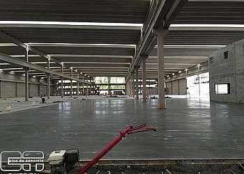 Piso de concreto para galpão