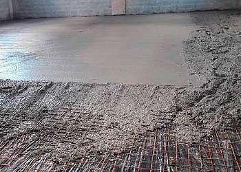 Recuperação de pisos industrial