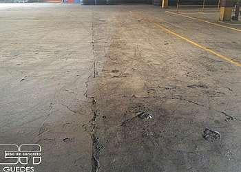 Reparo de piso industrial