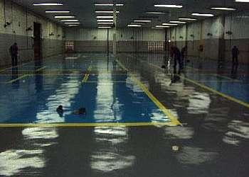 Revestimento de piso de câmara fria