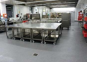 Revestimento de piso para cozinha industrial