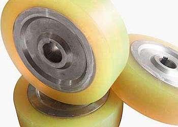 Revestimento de poliuretano em rolos